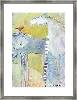 Pony II Framed Print by Shelli Walters