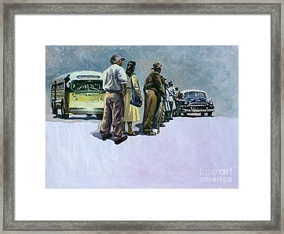 Pools Of Defiance Framed Print by Colin Bootman