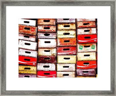 Pop Art Framed Print by John Q ART
