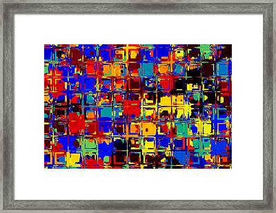 Pop Colors 15 Framed Print by Craig Gordon