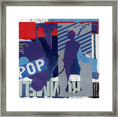 Pop Framed Print by Richard Allen