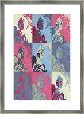 Popart An Angel Framed Print by Toppart Sweden