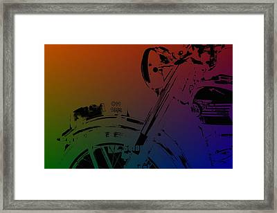 Popart Old Mc Framed Print by Toppart Sweden