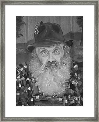 Popcorn Sutton - Jam - Moonshine Framed Print by Jan Dappen