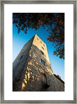 Pope John Xxii Tower At Cahors, Lot Framed Print by Panoramic Images