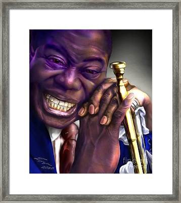 Pops Framed Print by Reggie Duffie
