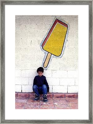 Popsicle Framed Print by Mark Goebel
