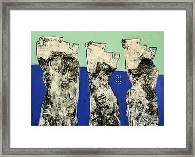 Populus No. 2 Framed Print by Mark M  Mellon