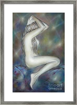 Porcelain Nude 080810 Framed Print by Selena Boron