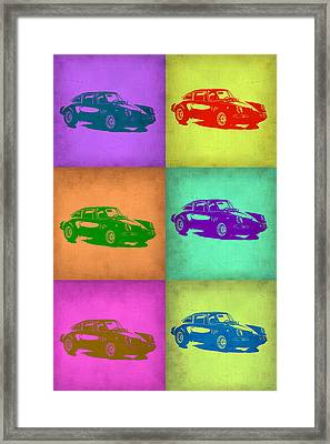 Porsche 911 Pop Art 2 Framed Print by Naxart Studio