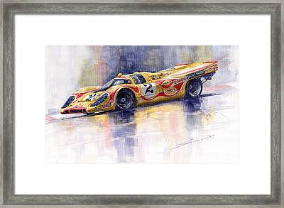 Porsche 917 K Martini Kyalami 1970 Framed Print by Yuriy Shevchuk