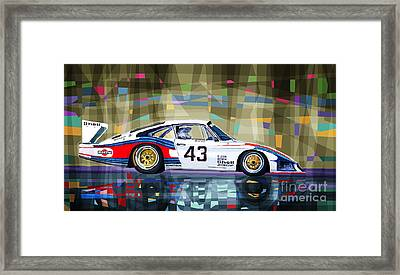 Porsche 935 Coupe Moby Dick Framed Print by Yuriy  Shevchuk