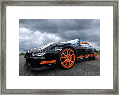 Porsche Gt3 Rs Framed Print by Gill Billington