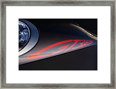 Porsche Gt3 Rs Framed Print by Kurt Golgart