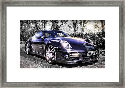 Porsche Framed Print by Ian Hufton