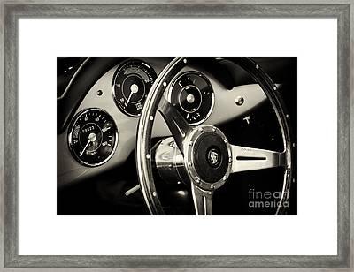 Porsche Speedster Framed Print by Tim Gainey
