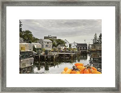 Port Clyde On The Coast Of Maine Framed Print by Keith Webber Jr
