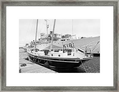 Port  Framed Print by Betsy C Knapp