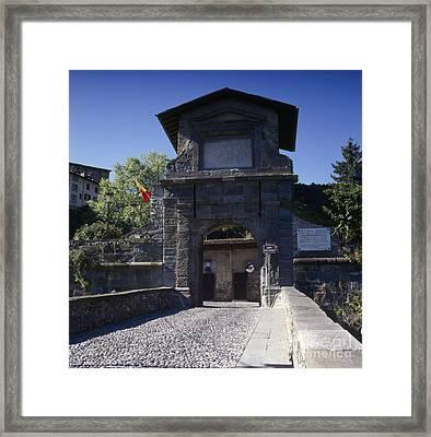Porta San Lorenzo Framed Print by Riccardo Mottola