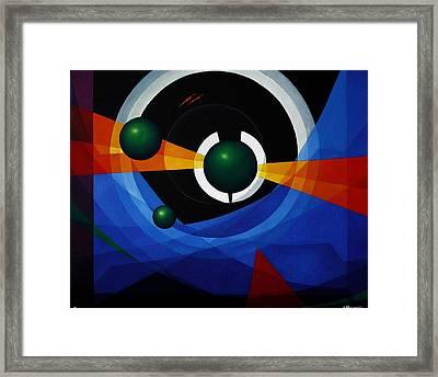Portal Framed Print by Alberto D-Assumpcao