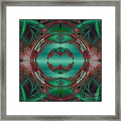 Portal / Escape Hatch  Framed Print by Elizabeth McTaggart