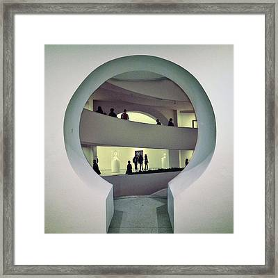 Portal Framed Print by Natasha Marco