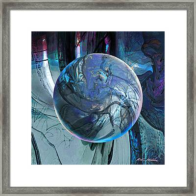 Portal To Divinity Framed Print by Robin Moline