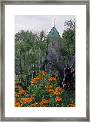 Porte Saint-louis In Quebec City Framed Print by Juergen Roth