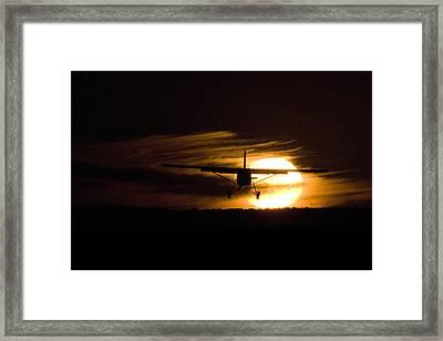 Porter Sunset II Framed Print by Paul Job
