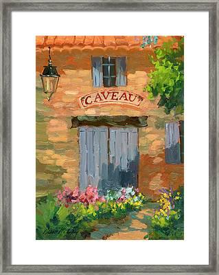 Portes Des Caveau Framed Print by Diane McClary