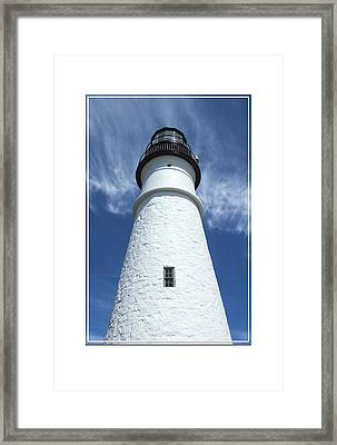 Portland Head Light Framed Print by Mike McGlothlen