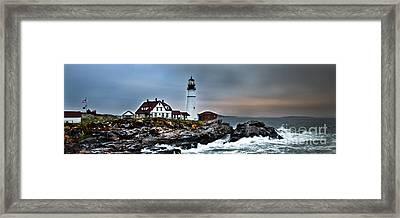 Portland Head Lighthouse 1 Framed Print by Glenn Gordon