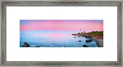 Portland Lighthouse Framed Print by Emmanuel Panagiotakis