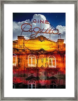 Porto Cine Aquia Framed Print by Skip Hunt