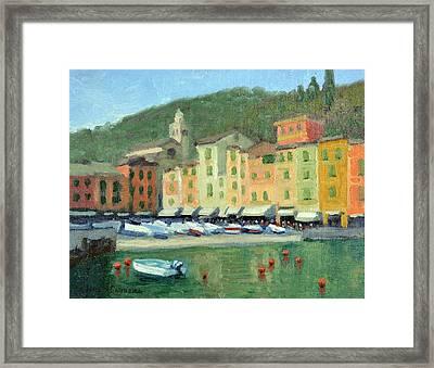 Portofino Framed Print by Armand Cabrera