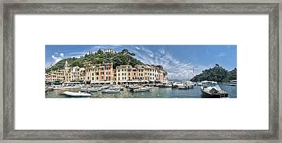 Portofino Italy Framed Print by Mesha Zelkovich