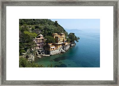 Portofino Framed Print by Jaroslaw Blaminsky