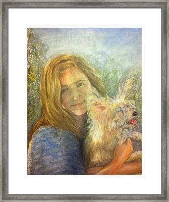 Portrait L And B Framed Print by Sherry Davis