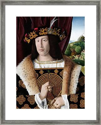 Portrait Of A Man Framed Print by Bartolomeo Veneto