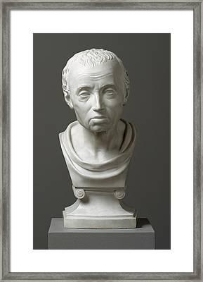 Portrait Of Emmanuel Kant  Framed Print by Friedrich Hagemann