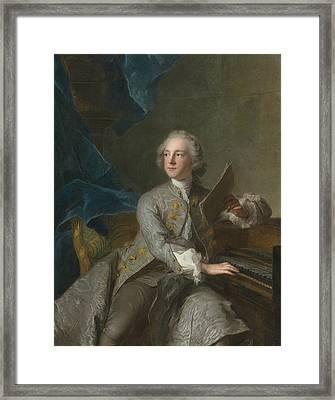 Portrait Of Francis Greville Framed Print by Celestial Images