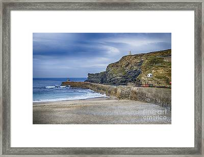 Portreath Before The Storms Framed Print by Chris Thaxter
