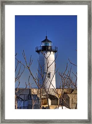 Portsmouth Harbor Light 3 Framed Print by Joann Vitali
