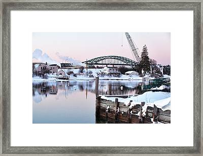 Portsmouth North End Framed Print by Eric Gendron