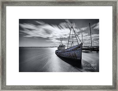 Portugal Fishing Boat Framed Print by English Landscapes