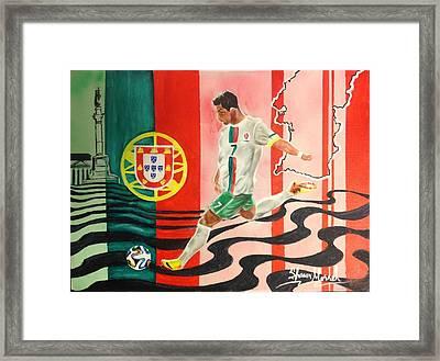 Portugal Framed Print by Shawn Morrel