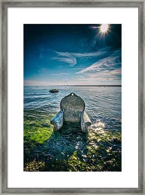 Poseiden Framed Print by Peter Tellone