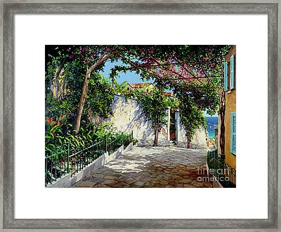 Positano  Framed Print by Michael Swanson