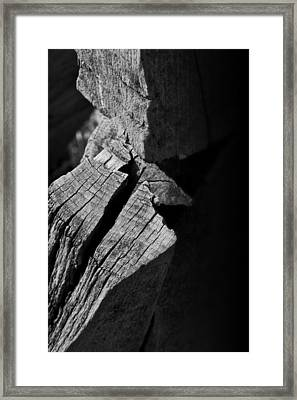 Post Light Framed Print by Odd Jeppesen