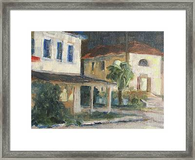 Post Office Apalachicola Framed Print by Susan Richardson